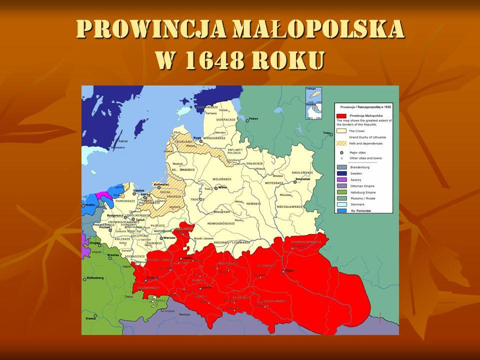 PROWINCJA MA Ł OPOLSKA W 1648 ROKU