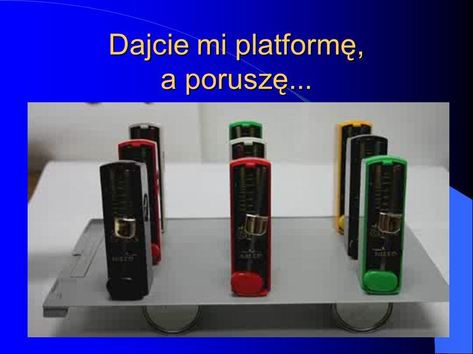 Dajcie mi platformę, a poruszę...
