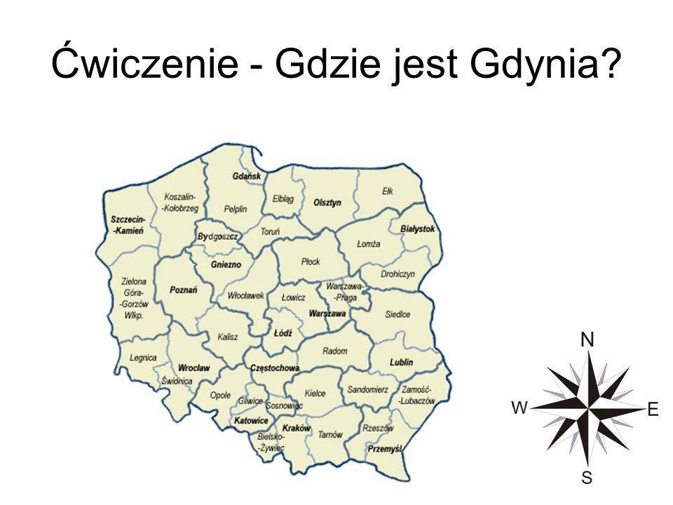 Ćwiczenie - Gdzie jest Gdynia?