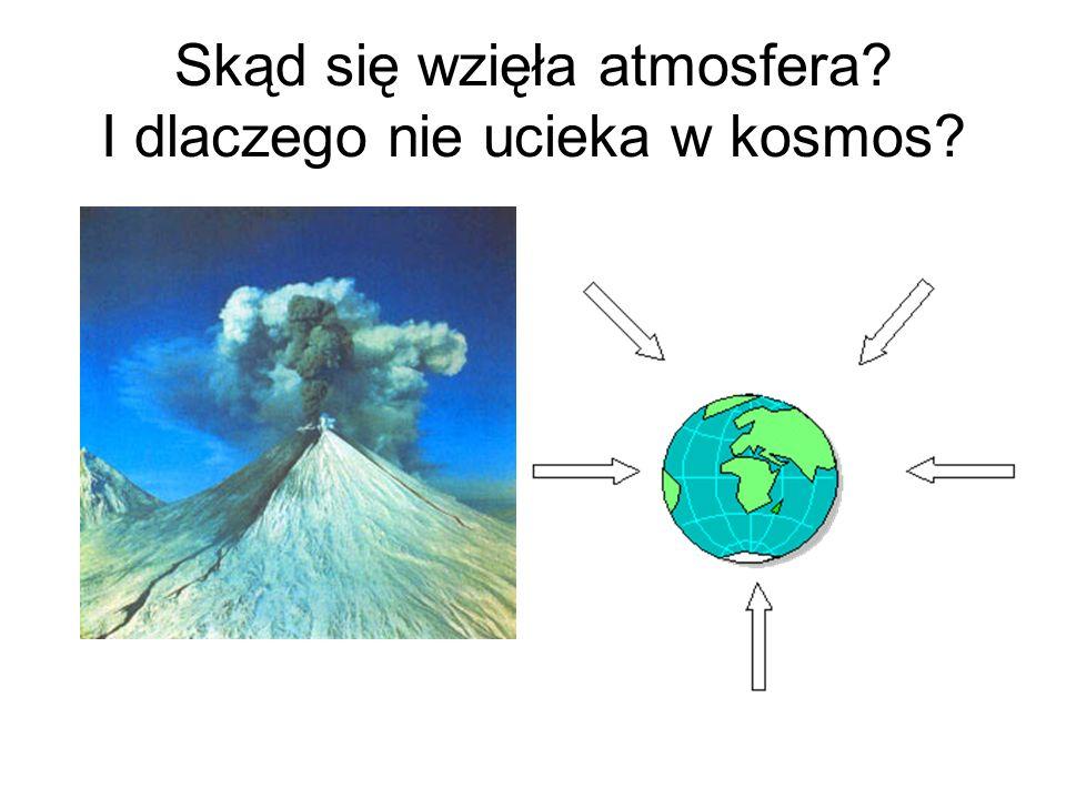 Skąd się wzięła atmosfera? I dlaczego nie ucieka w kosmos?