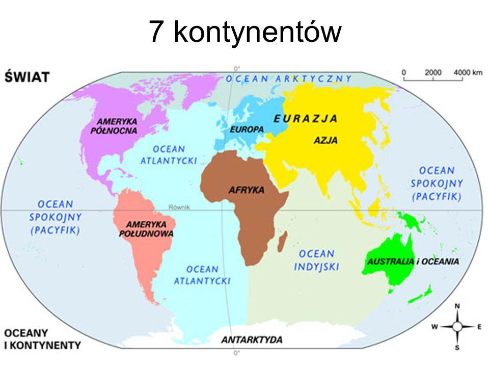 7 kontynentów