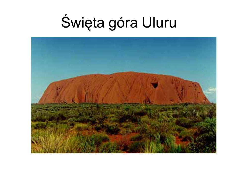 Święta góra Uluru