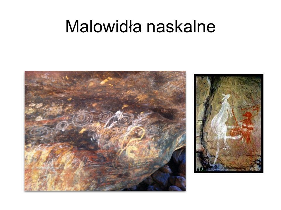 Ćwiczenie – malowanie wiadomości Przykładowe hasła dla plemion: Pod wielką skała było wielkie polowanie.