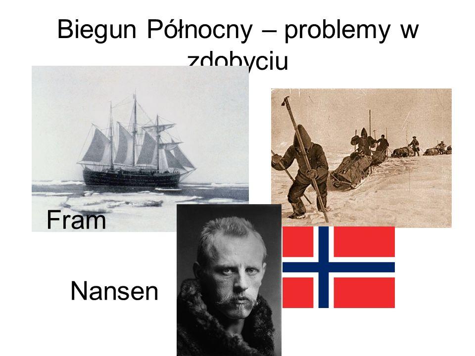 Biegun Północny – problemy w zdobyciu Nansen Fram
