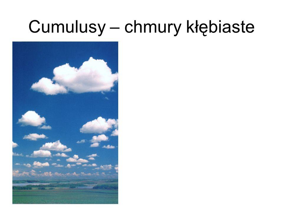Cumulusy – chmury kłębiaste