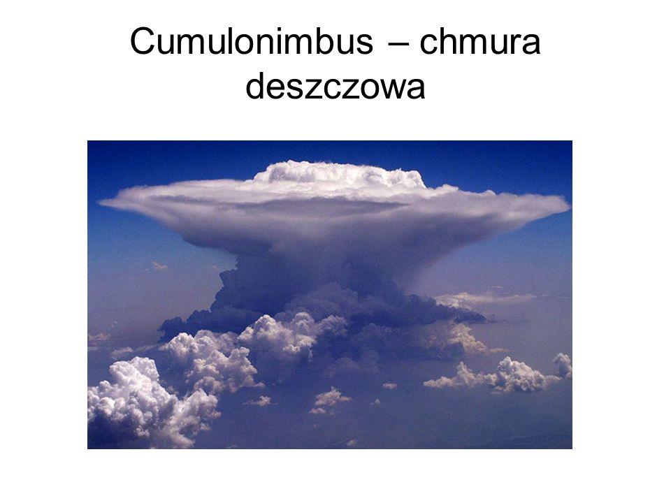 Cumulonimbus – chmura deszczowa