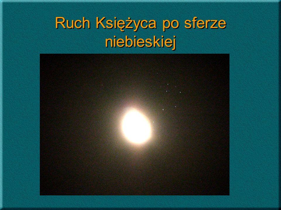 Przejście Księżyca na tle Plejad Zjawisko to zaobserwowano i zarejestrowano kamerą internetową 13 września 2006 r.