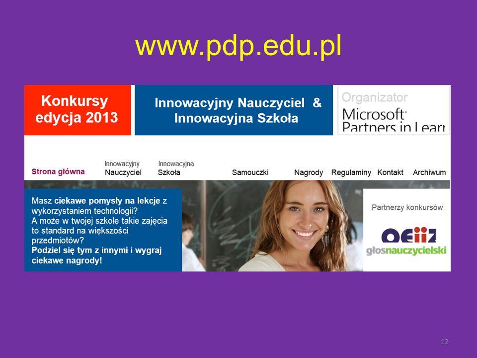 www.pdp.edu.pl 12