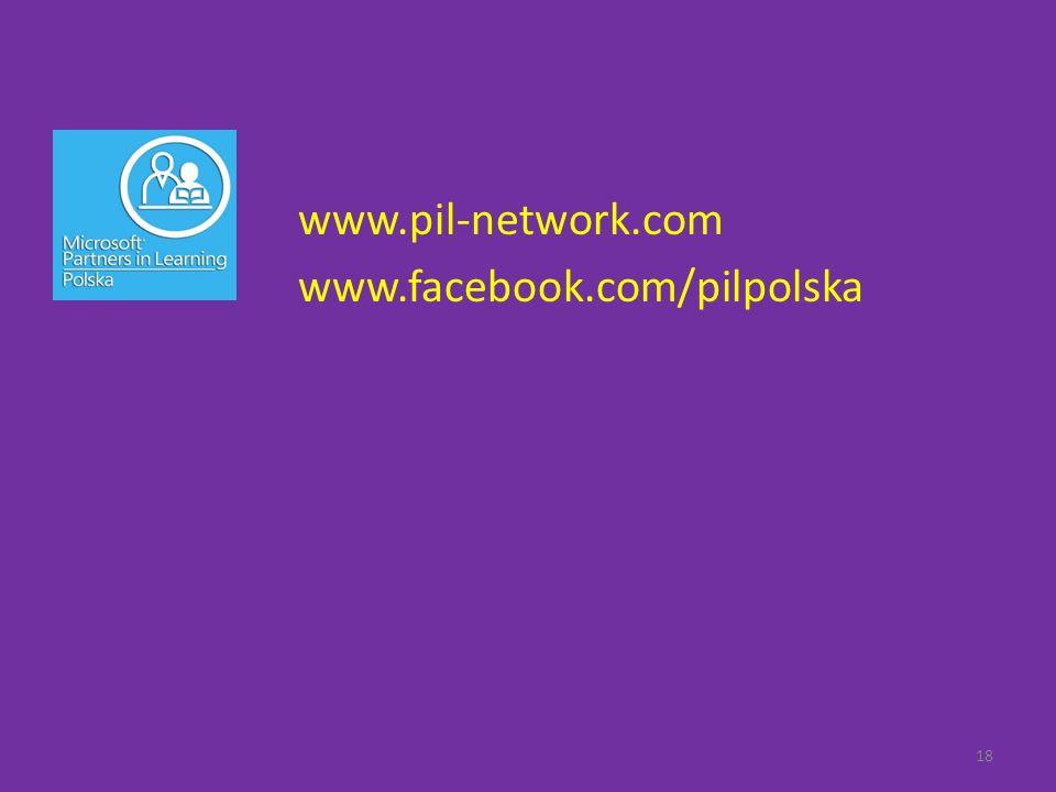 18 www.pil-network.com www.facebook.com/pilpolska