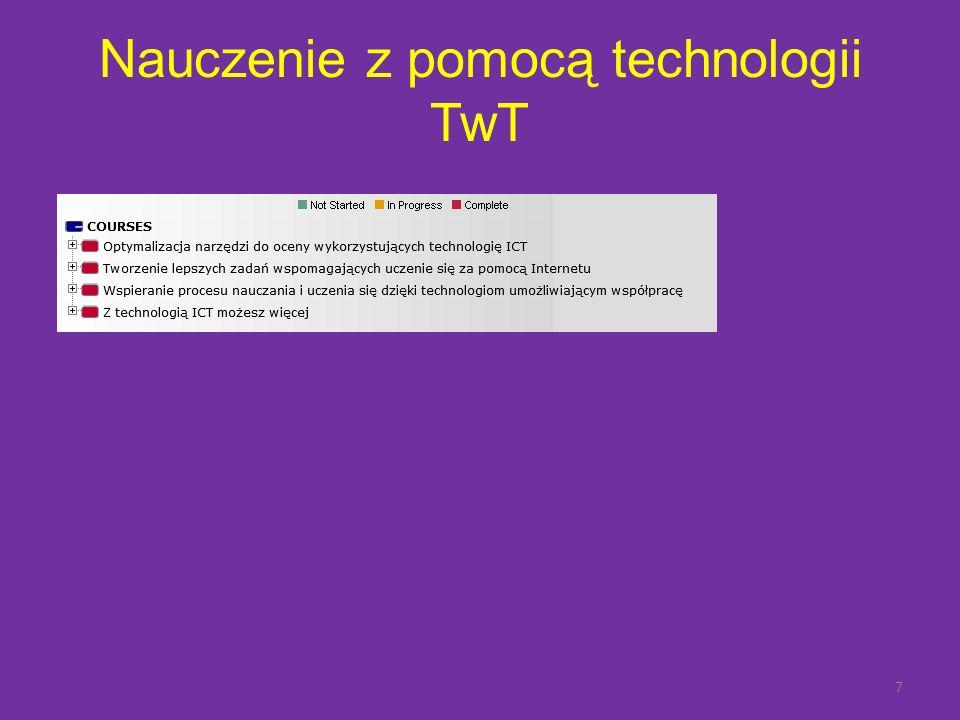 Nauczenie z pomocą technologii TwT 7