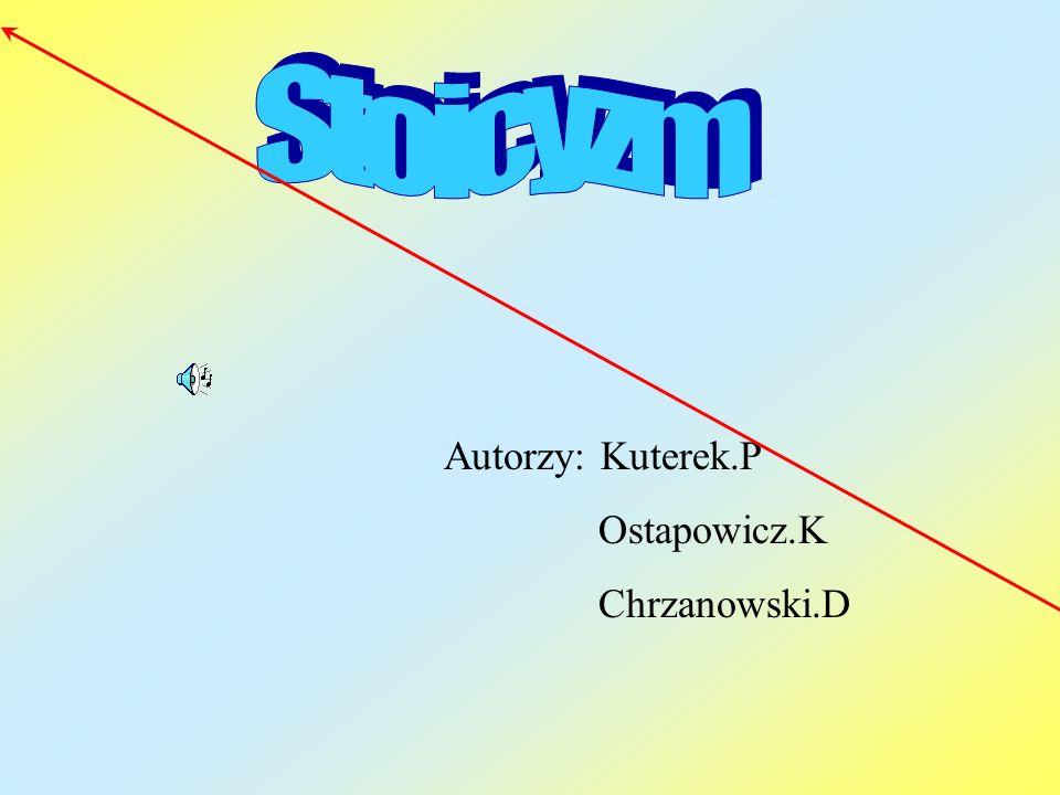 Autorzy: Kuterek.P Ostapowicz.K Chrzanowski.D