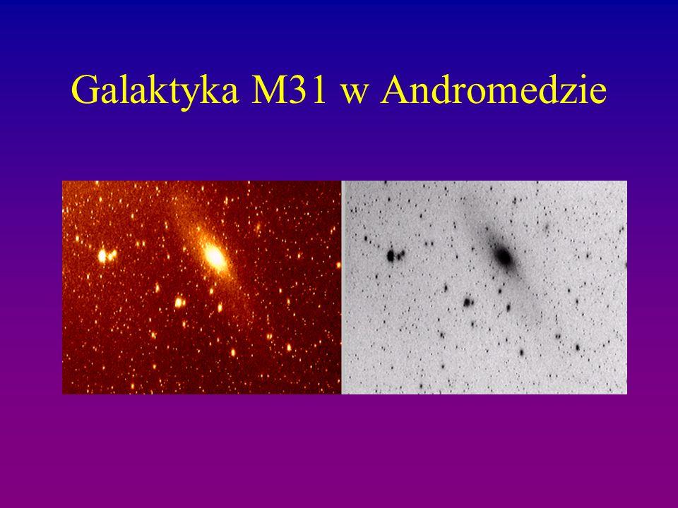 Galaktyka M31 w Andromedzie