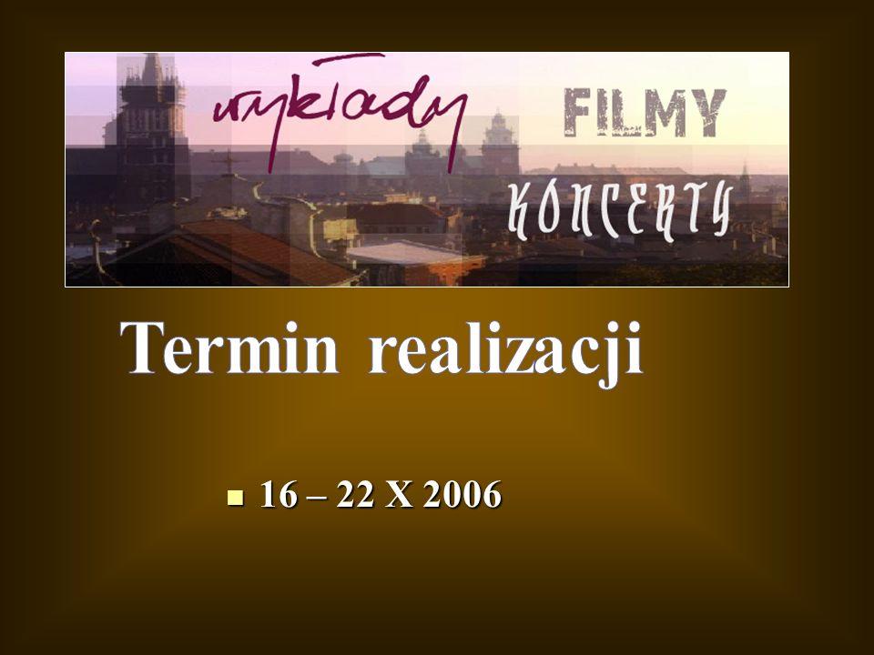 16 – 22 X 2006 16 – 22 X 2006