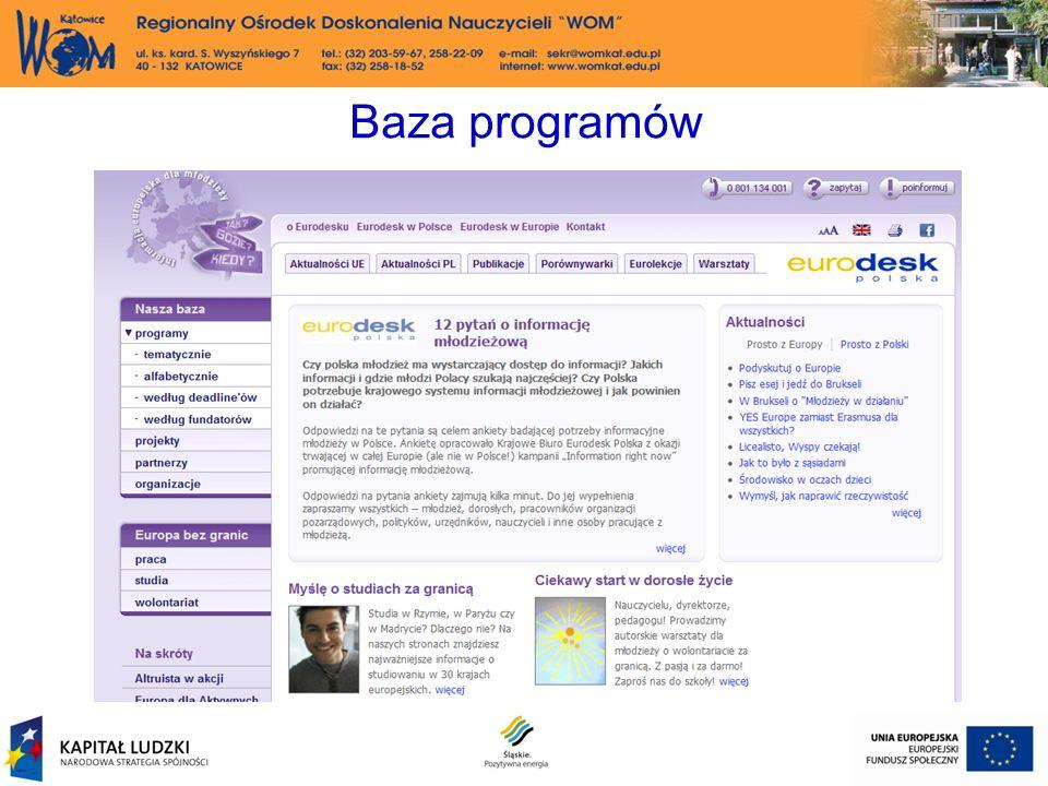Baza programów