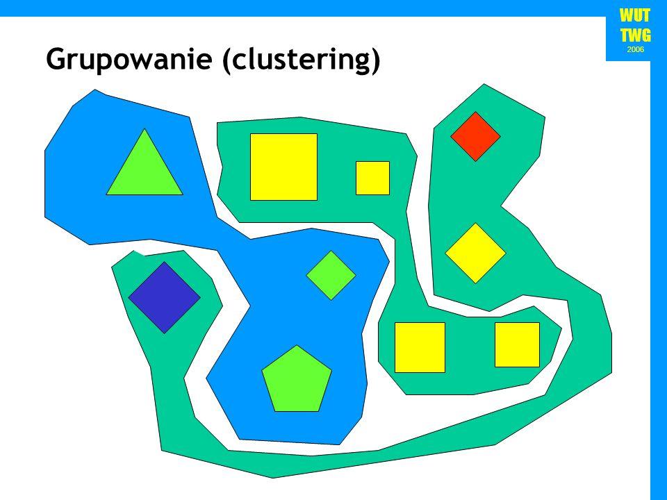 WUT TWG 2006 Grupowanie (clustering)