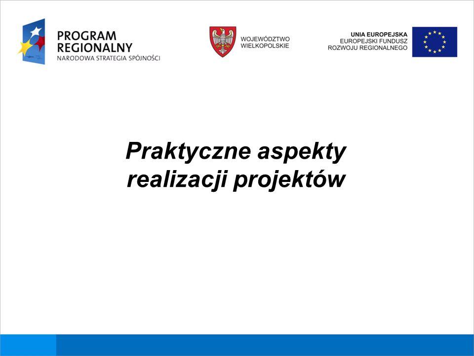 Warunki kwalifikowalności kosztów Warunki kwalifikowalności wydatków w ramach Wielkopolskiego Regionalnego Programu Operacyjnego na lata 2007-2013 określają szczegółowo Wytyczne IZ w sprawie kwalifikowalności kosztów.