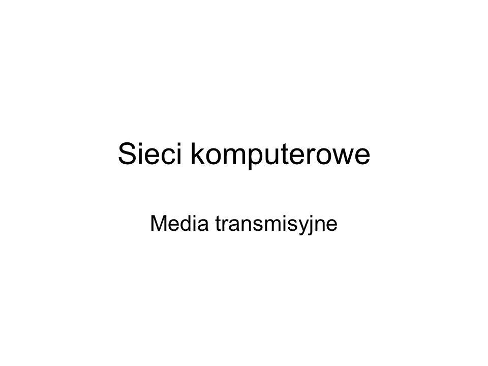 Kategorie kabli miedzianych zostały ujęte w specyfikacji EIA/TIA w kilka grup, w których przydatność do transmisji określa się w MHz.