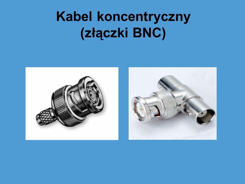 Kabel koncentryczny (złączki BNC)