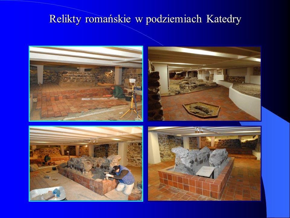 Relikty romańskie w podziemiach Katedry