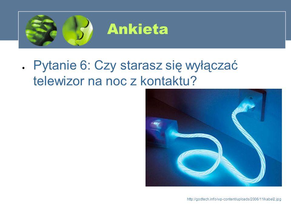 Ankieta Pytanie 6: Czy starasz się wyłączać telewizor na noc z kontaktu? http://godtech.info/wp-content/uploads/2006/11/kabel2.jpg