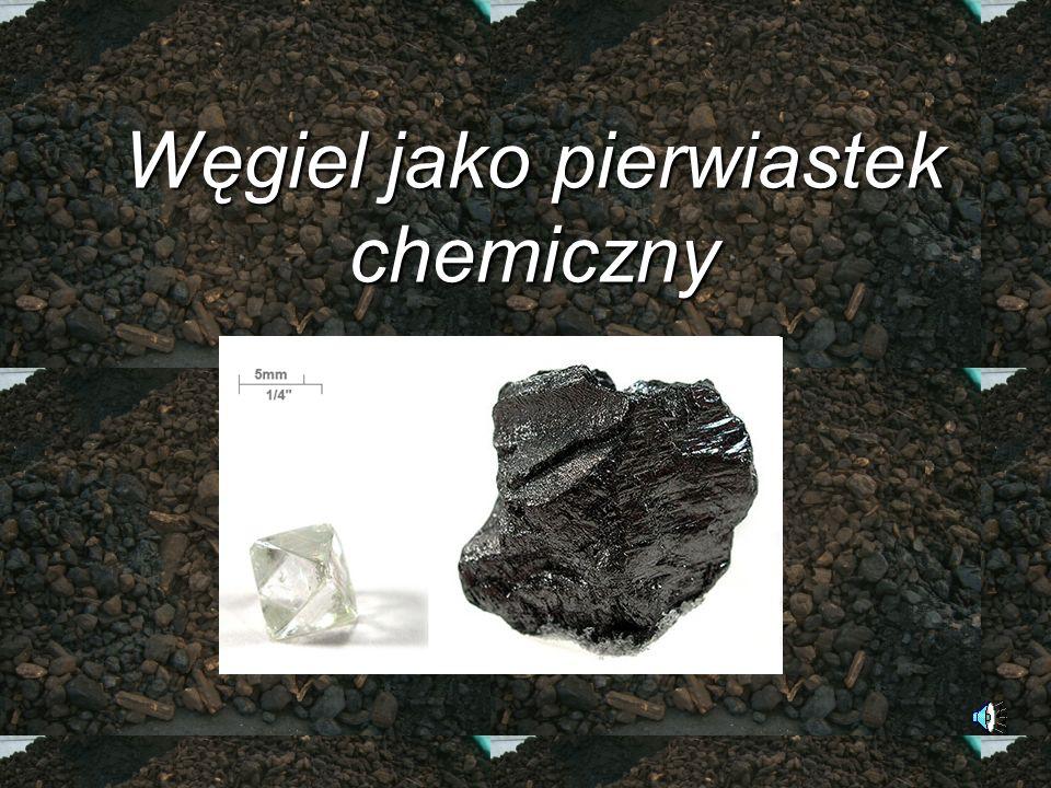 Węgiel jako pierwiastek chemiczny