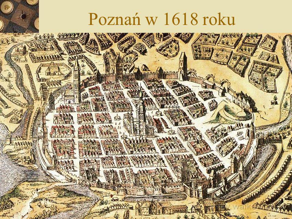 Poznań w 1618 roku