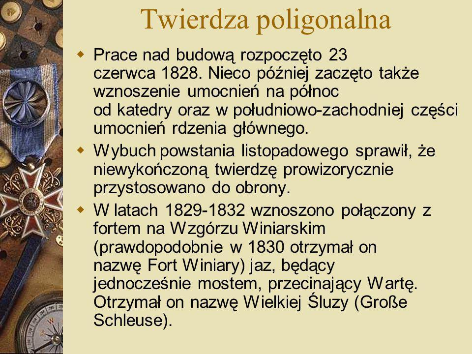 Międzywojnie Wybuch powstania zastał Twierdzę Poznań w nietypowej sytuacji.