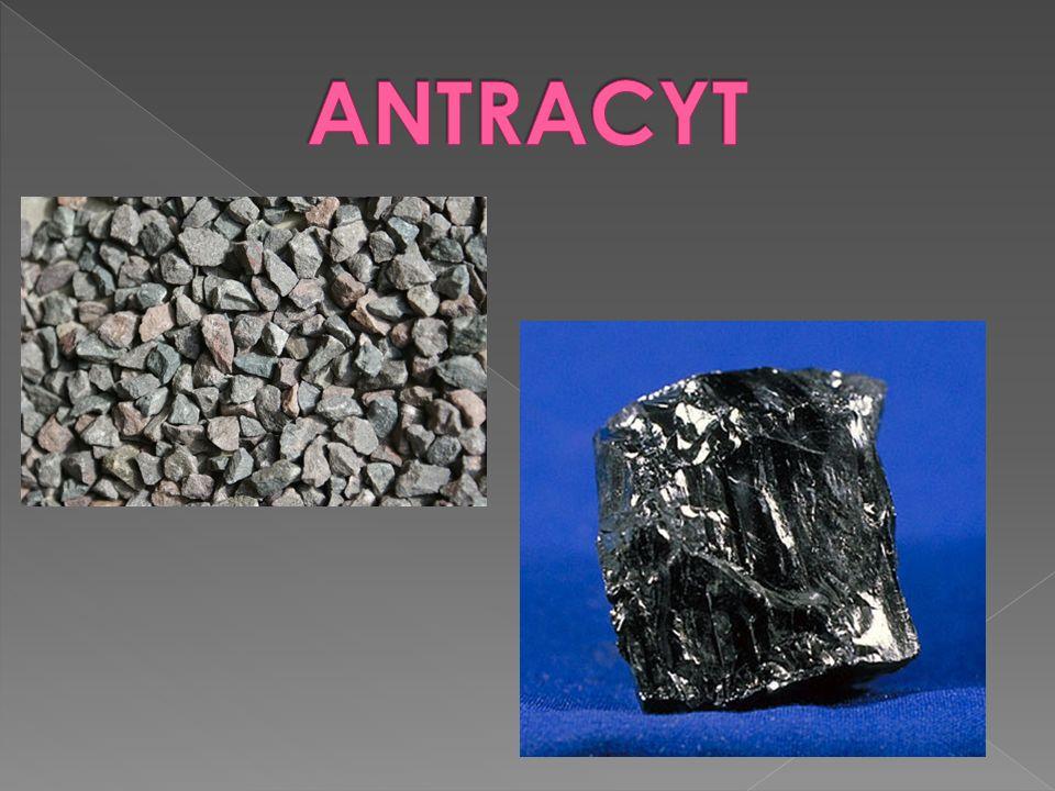 Rodzaj bezpostaciowego węgla kopalnego o najwyższej zawartości pierwiastka węgla (do 98% masy).