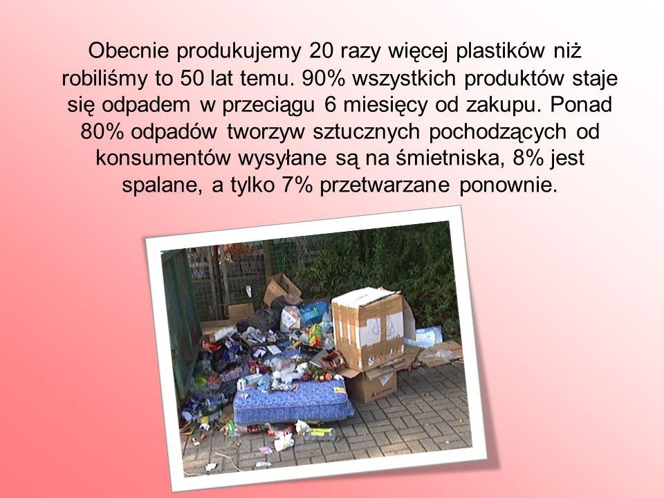 Według przeprowadzonych szacunków rocznie w Polsce powstaje ok.