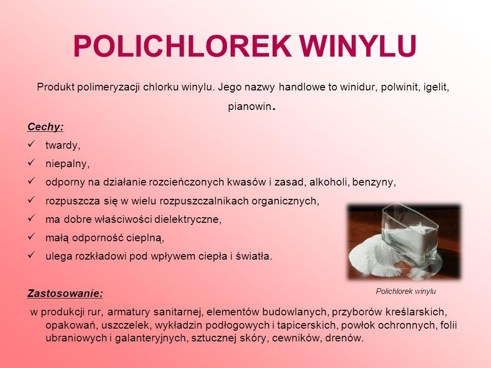 POLIAMIDY Produkty polimeryzacji lub polikondensacji.