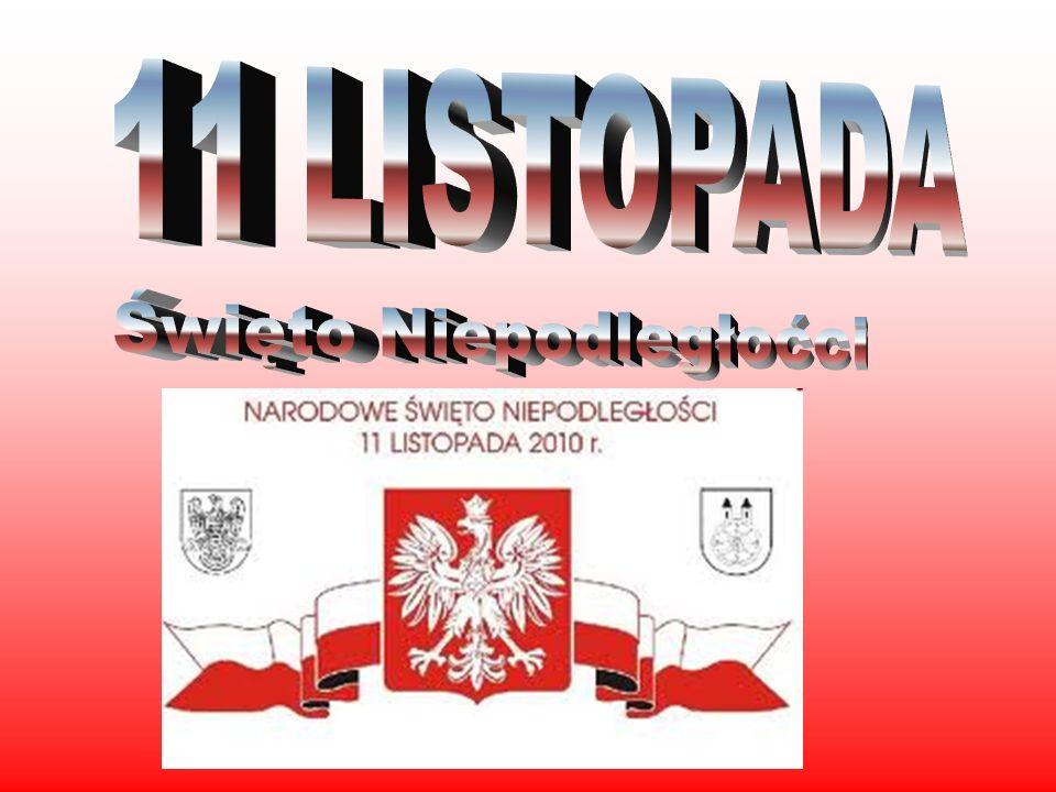 Narodowe Święto Niepodległości – polskie święto, obchodzone co roku 11 listopada, dla upamiętnienia rocznicy odzyskania przez Naród Polski niepodległego bytu państwowego[1] w 1918 roku po 123 latach od rozbiorów dokonanych przez Austrię, Prusy i Rosję.
