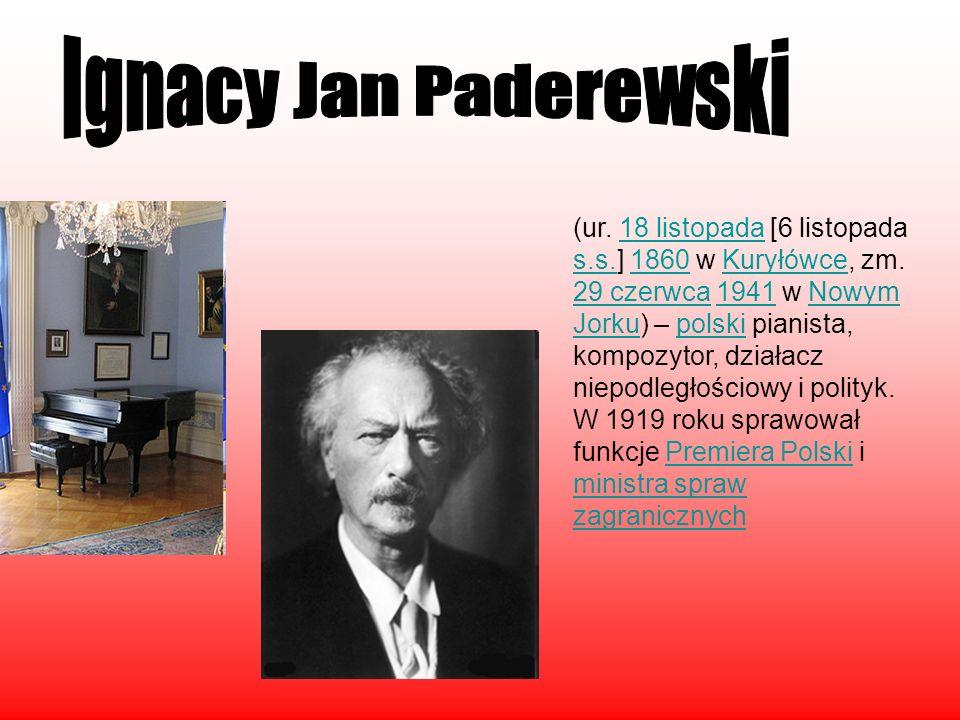 (ur. 18 listopada [6 listopada s.s.] 1860 w Kuryłówce, zm. 29 czerwca 1941 w Nowym Jorku) – polski pianista, kompozytor, działacz niepodległościowy i