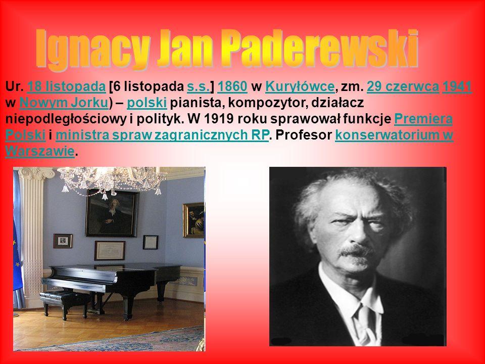Ur. 18 listopada [6 listopada s.s.] 1860 w Kuryłówce, zm. 29 czerwca 1941 w Nowym Jorku) – polski pianista, kompozytor, działacz niepodległościowy i p