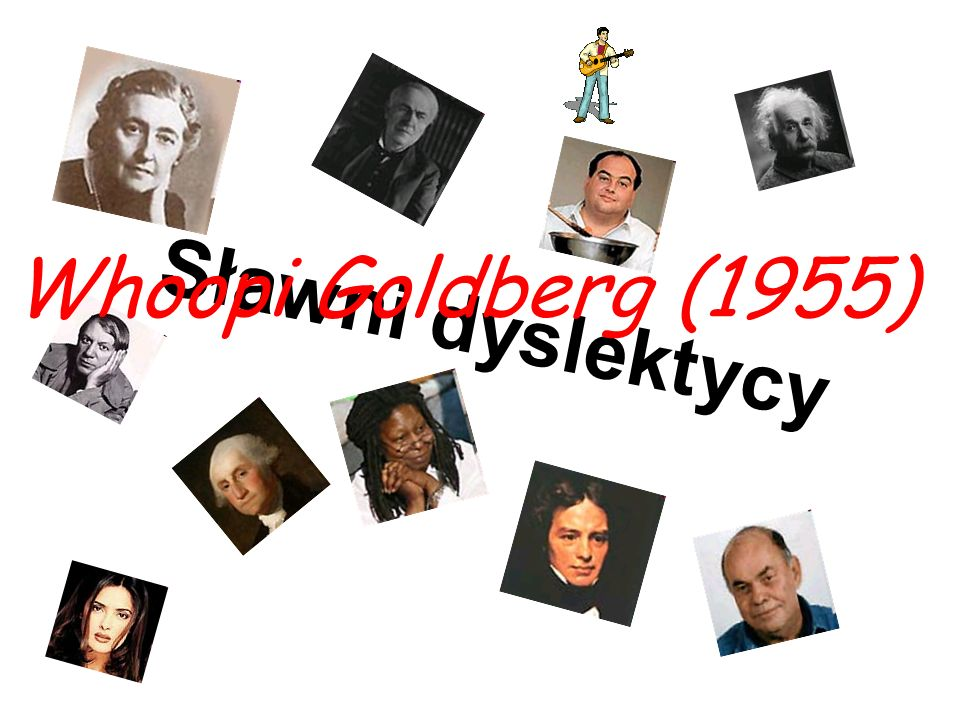 Sławni dyslektycy Whoopi Goldberg (1955)