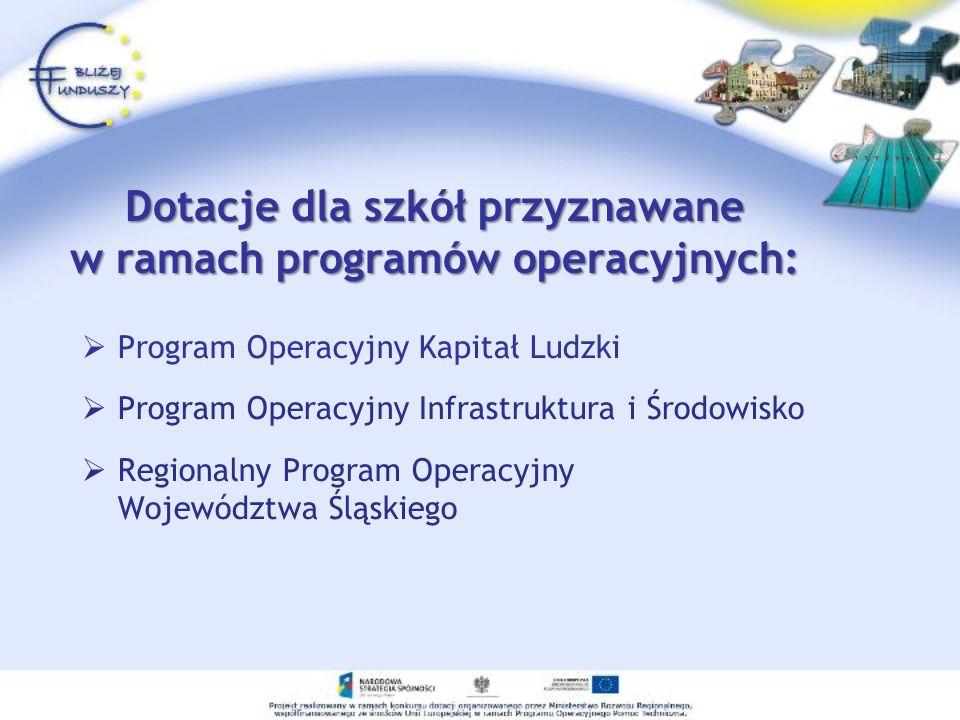 Przykład projektuSzkoła Marzeń Projekt był współfinansowany ze środków pochodzących z EFS.