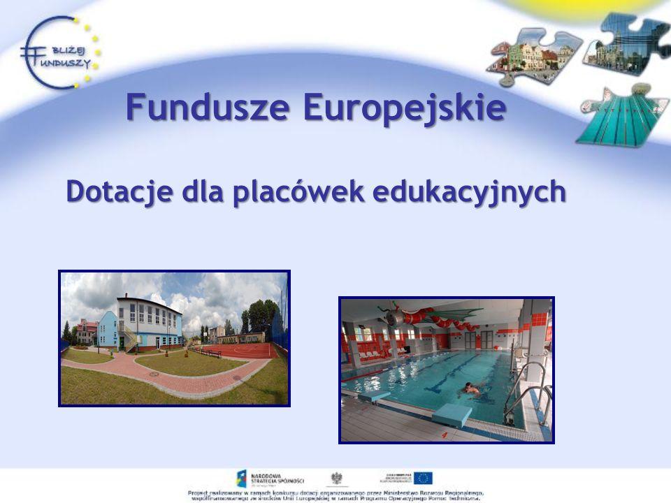Działanie 5.4 POIiŚ Typy projektów Ogólnopolskie lub ponadregionalne działania edukacyjne, kampanie informacyjno – promocyjne, imprezy masowe oraz konkursy i festiwale ekologiczne, w tym: