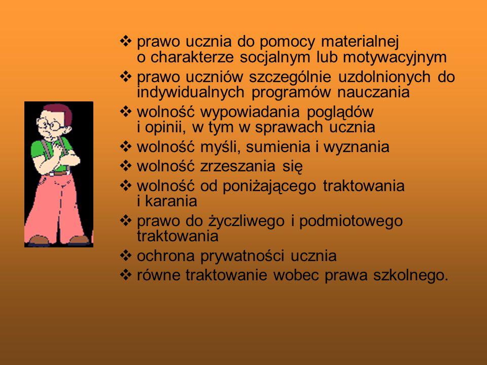 RZECZNICY PRAW UCZNIA w Gimnazjum nr 2 im.