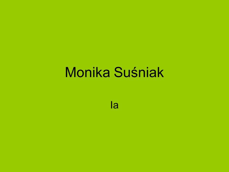 Monika Suśniak Ia