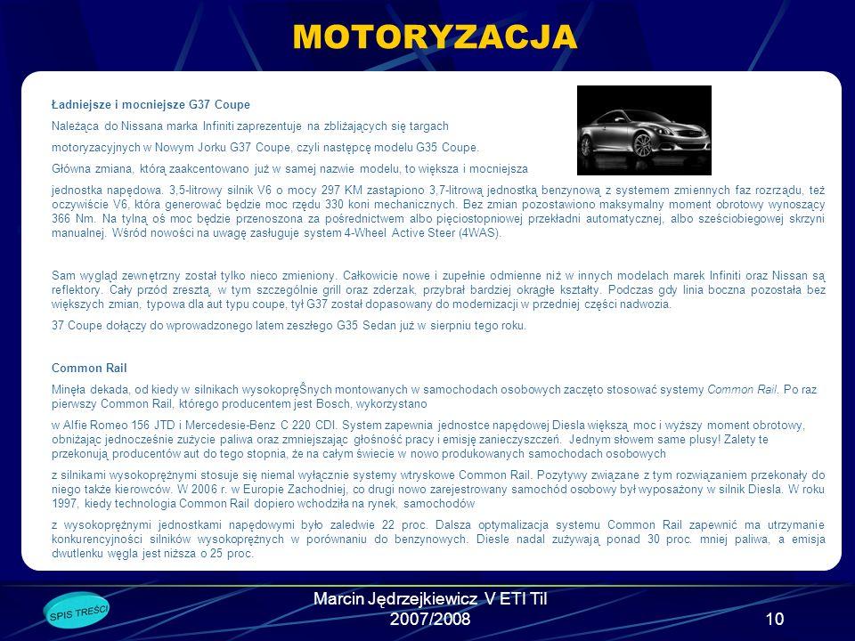 Marcin Jędrzejkiewicz V ETI TiI 2007/20089 DLA INTERNAUTÓW Zasoby internetu Bill Gates w 1984 roku prognozował: