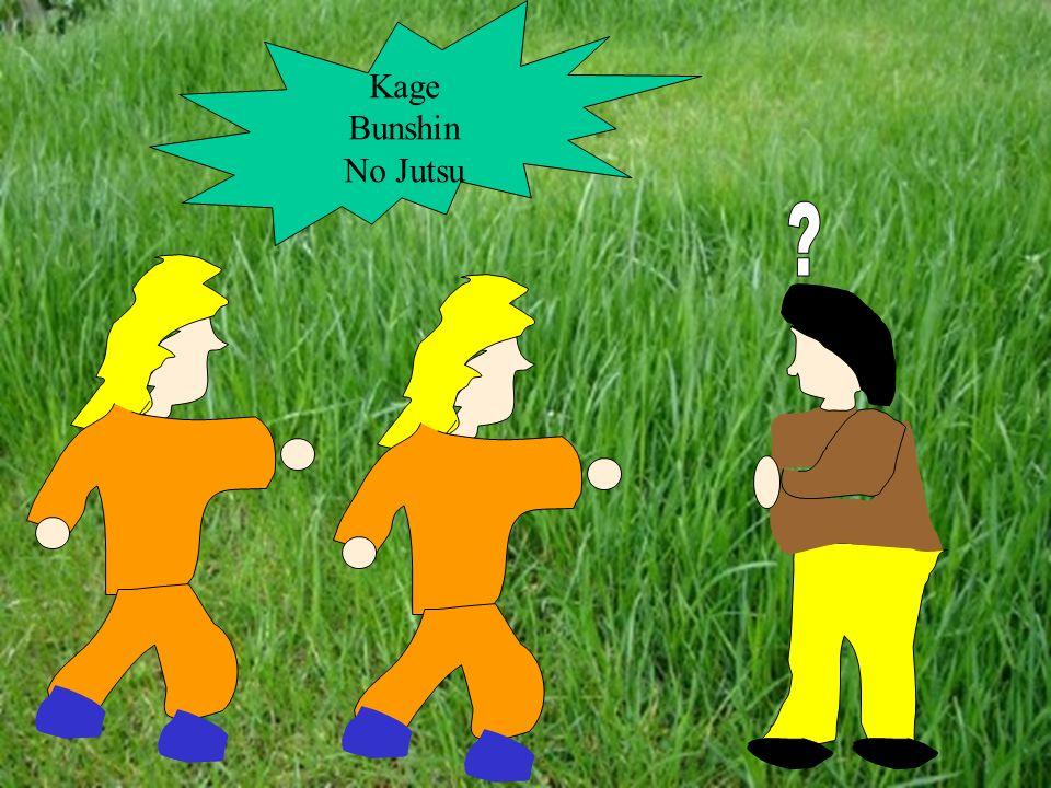 Teraz ja coś pokażę. Kage Bunshin no Jutsu. Rasengan.