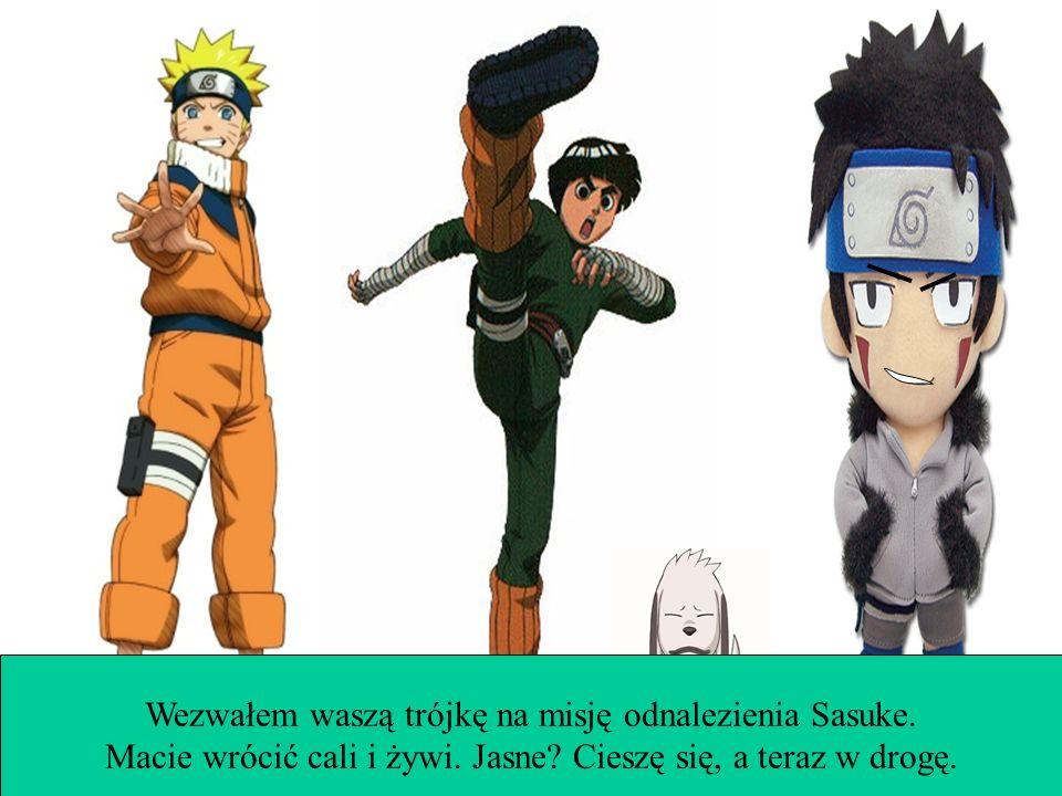 3/1 misja: Minęły cztery miesiące a Sasuke zginął. Musisz go odnaleźć. Saved game