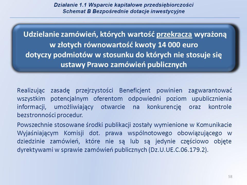 Do powszechnych stosowanych środków publikacji wymienionych w powyższym Komunikacie należą: -Internet (zalecane przez IZ RPO WP), -Krajowe dzienniki urzędowe, krajowe dzienniki specjalizujące się w ogłoszeniach o zamówieniach publicznych, gazety o zasięgu krajowym lub regionalnym lub publikacje specjalistyczne, -Lokalne środki publikacji, -Dziennik Urzędowy Unii Europejskiej, -Tablice ogłoszeń.