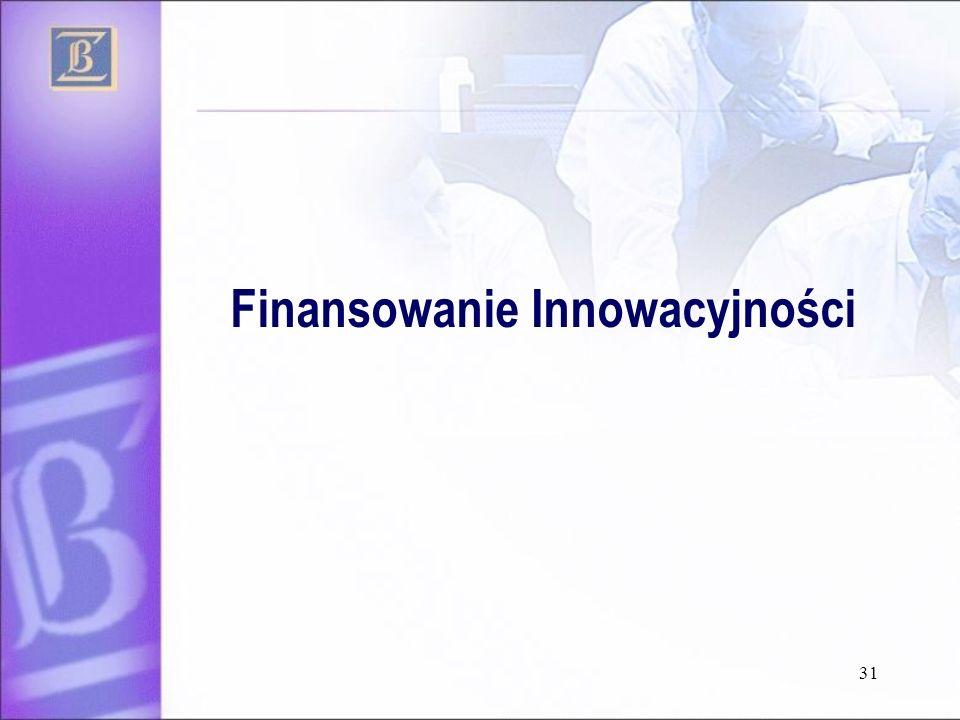 31 Finansowanie Innowacyjności