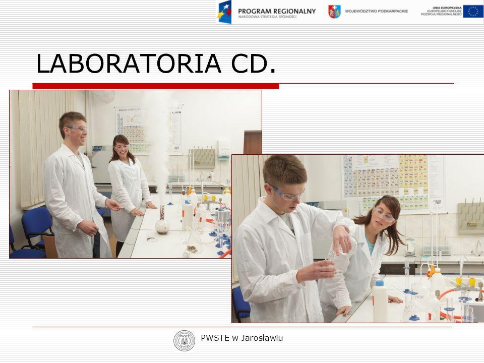PWSTE w Jarosławiu LABORATORIA CD.