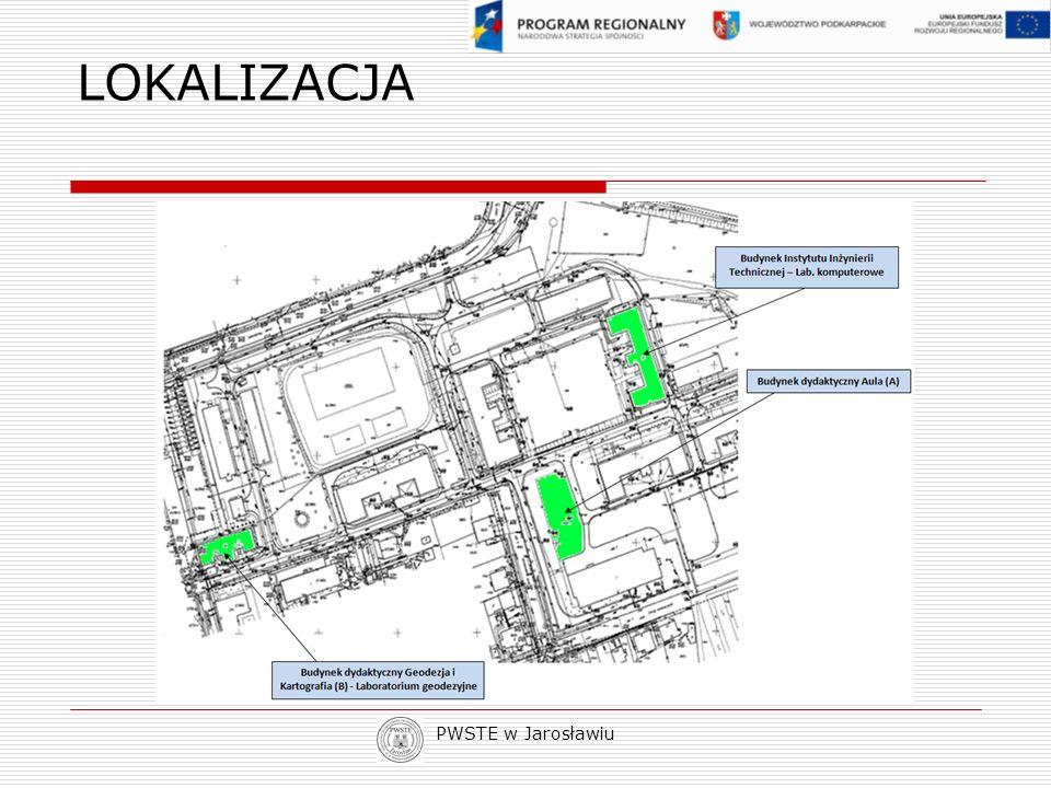 PWSTE w Jarosławiu LOKALIZACJA