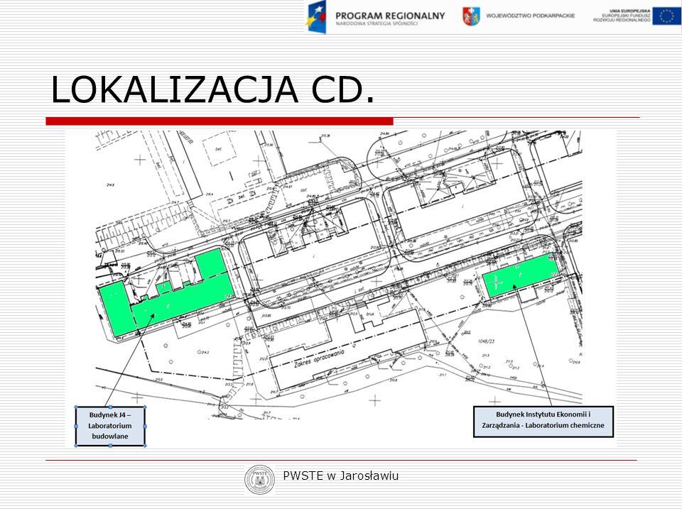 PWSTE w Jarosławiu LOKALIZACJA CD.