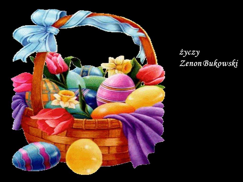Jaj przepięknie malowanych, Świąt słonecznie roześmianych, W poniedziałek dużo wody, Zdrowia, szczęścia oraz zgody.