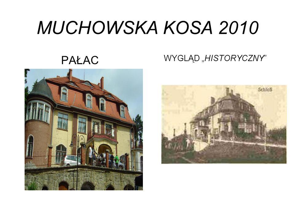 MUCHOWSKA KOSA 2010 PAŁAC WYGLĄD HISTORYCZNY