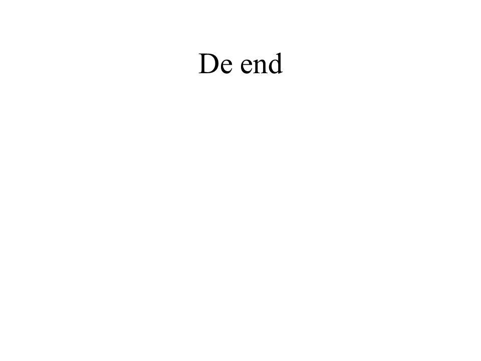 De end