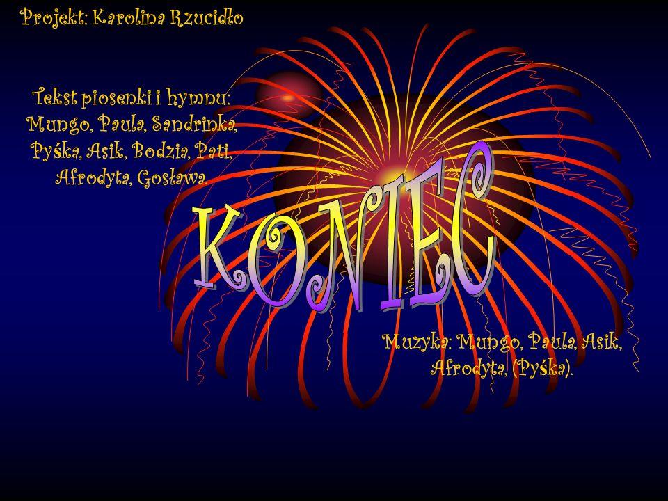 Nasz sprz ę t Bongosy (Afrodyta) Elektryk (Paula) Klasyk (Mungo) Akustyk (Asik) MP3 (Py ś ka)